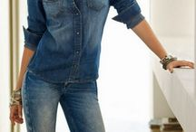 Denim loves Denim / This Spring the All-over Denim Look is coming back! / by FASHION ID