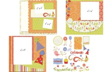 Scrapbooking layouts 8x8 / by Debbie Forney