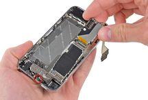 Sustitución de la placa base del iPhone 4 / Para sustituir la placa base del iPhone 4, siga los pasos siguientes