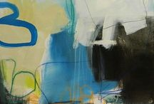 Jennifer Rivera / Known for edgy and evocative abstract paintings, Jennifer Rivera often employs the use of bold colors and gestural movements. Her large scale works have been described as captivating interpretations of life's moments: rich in dimension and detail.