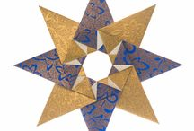 8 point star wreath
