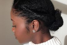 Natural Hairstyles / This is a group board for all of your tips and tricks to make your natural hair look as fabulous as possible. Everything from natural hair products to natural hair styles for short hair.