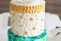 watercolour cakes