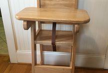 scaune de lemn pt copii