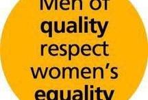 Feminism, it's for everybody / by Jenn Beach