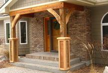 Pillars/front porch