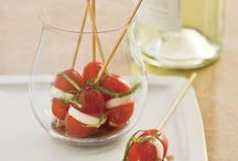 Party Appetizers / Healthy and delicious appetizers fit for any party