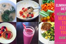 Elimination diet recipes / Food ideas for virgin diet
