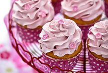 Butter cream cupcake