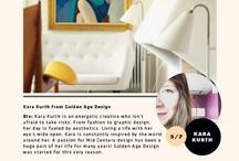 Vintage Style: Kara Kurth / Kara Kurth from Golden Age Design (https://www.facebook.com/goldenagedesign)