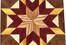 intarsio in legno
