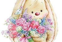 Decoupage Easter