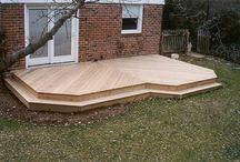 Deck new house