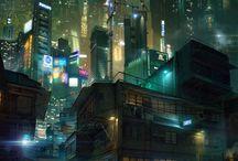 Neon City idea