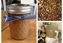 nut . butters / Make your own alternatives to store-bought peanut butter / by Sandra Hachey