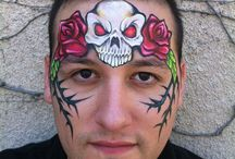 halloween facepaint idears