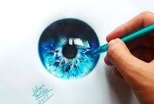 oeil stylo bille