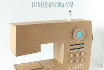 Cardboard machines