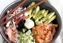 Food; Poke bowl