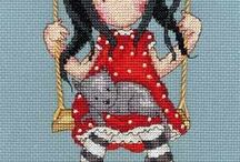 Cross Stitch Gorjuss