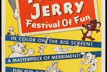 Tom and Jerry Movie Posters / A collection of Tom & Jerry cinema posters used to advertise their cartoons in movie theaters during Tom and Jerry's original run at MGM