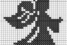 Cross stitch melek