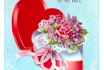 Vintage Valentine's Day Cards / by Scherlyn Black Harris