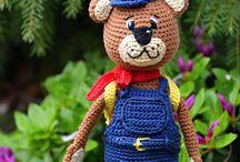 Crocheting makes me happy ♥ / #vendulkam patterns