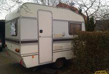 Campingvogn / Renovering af vores ældre campingvogn