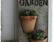 betonowe dekoracje