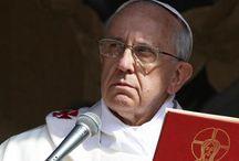 """News : Papa Francesco shock: """"L'inferno non esiste, la storia di Adamo ed Eva è solo una metafora""""."""