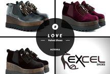 Norma - Velvet Shoes