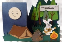 Inspiring Paper Crafts / Cards, other fun things  and ideas made with PAPER! / by Susan Wingfield