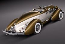 Older cars 1900-1955
