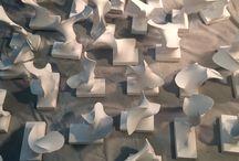 papírszobrok
