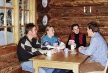 Log Cabin Living / Log cabin living includes building log cabins, luxury log cabins, caring for log cabins, and off grid cabins. #logcabinliving