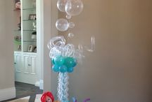 Under the Sea Balloon Theme Party / Under the Sea Balloon decor that would be great for any the following party themes: • Under the Sea • Little Mermaid • Tropical • Swimming Pool