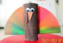 Thanksgiving / Thanksgiving themed craft for children.   / by Kidfolio