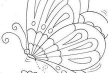 Бабочки рисунки
