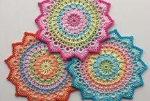 Crochet - mandala, doilies