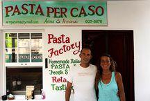 """Fornelli in fuga : """" Pasta per Caso """", Caye Caulker, Belize"""