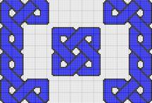 Crochet cross stitch