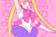 Sailor Moon / fight like a girl