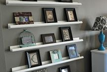 Pictures on shelves / Home proyect