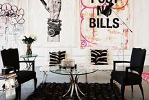Industrial Glam Rock Decor