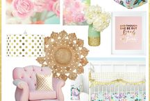 Pastel Nursery Design / Pastel nursery design for your baby girl.