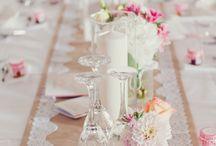 Deko Hochzeit Tische