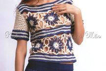Mode Granny and Crochet / ausgefallene Mode