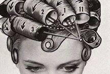 1940s Hairstyles- pincurls