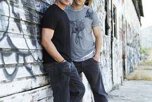 Sam et Dean Winchester et castiel